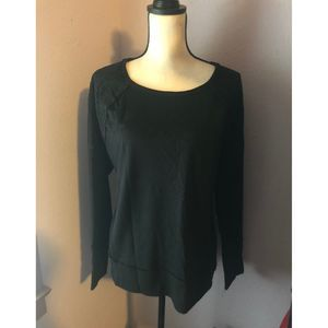 Plus Size Knox Rose Black Sweater